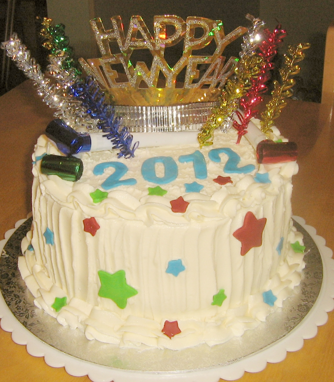 New Year's Eve Cake