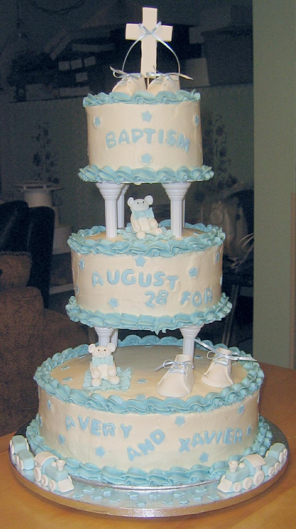 Baptism for Twin Boys