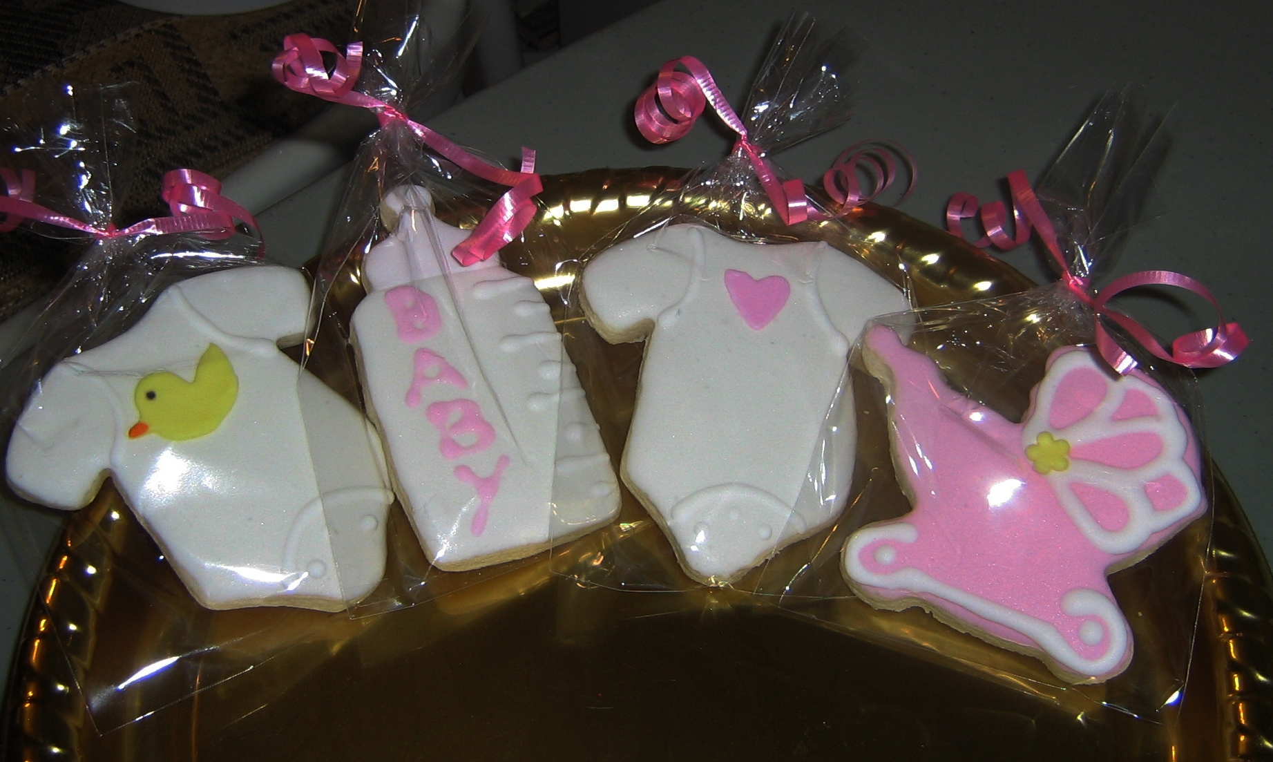 Girl Baby Shower Cookies