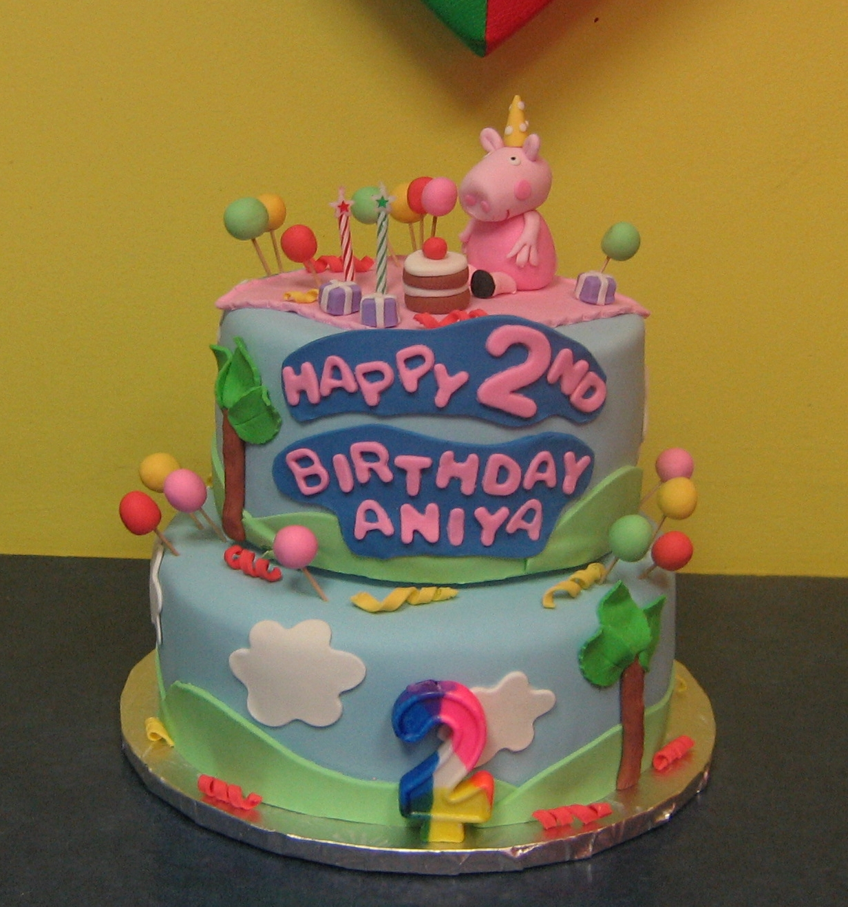 Peppa Pigs Birthday Party