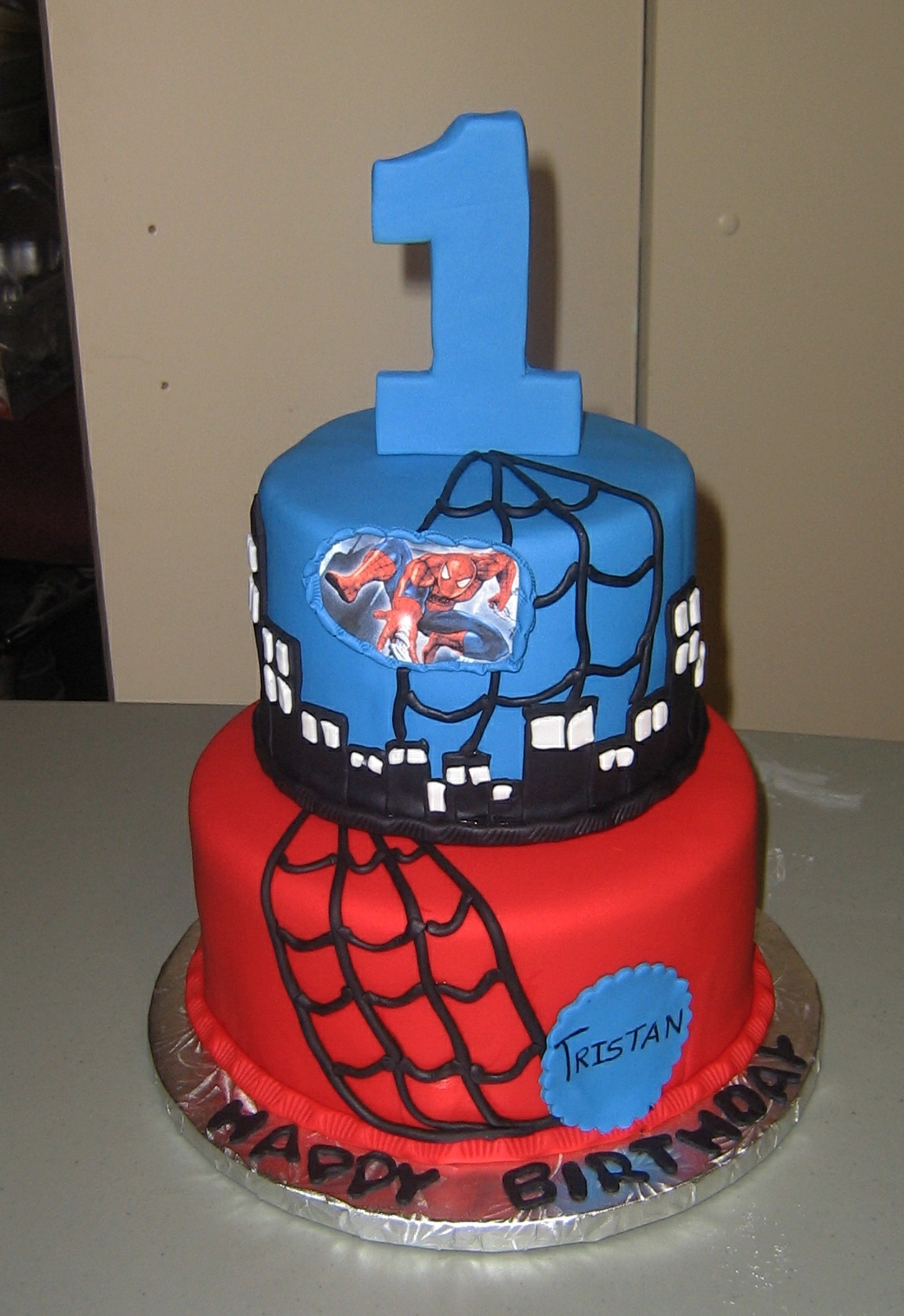 Spiderman 1st Birthday