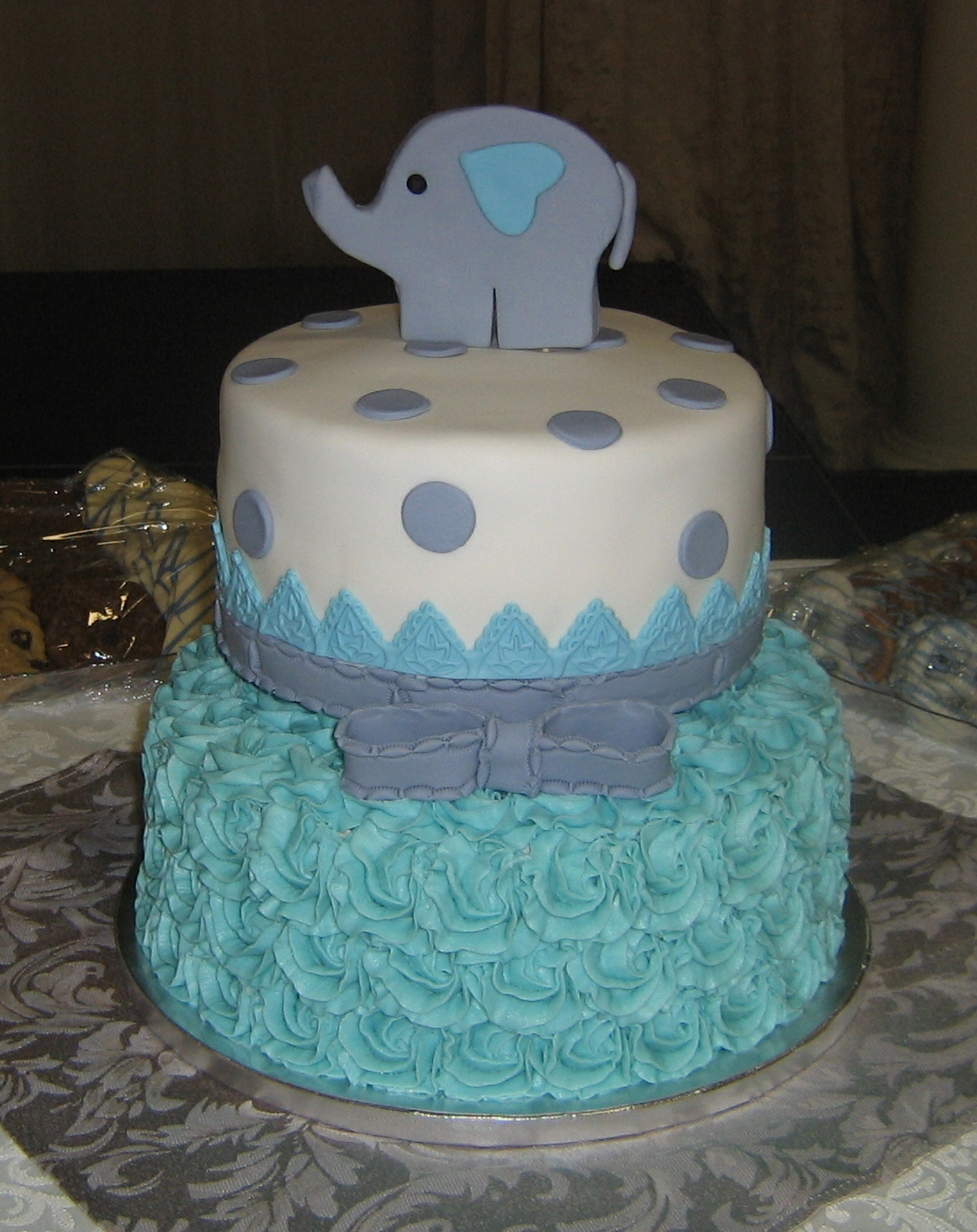 Pretty in Blue Baby Shower