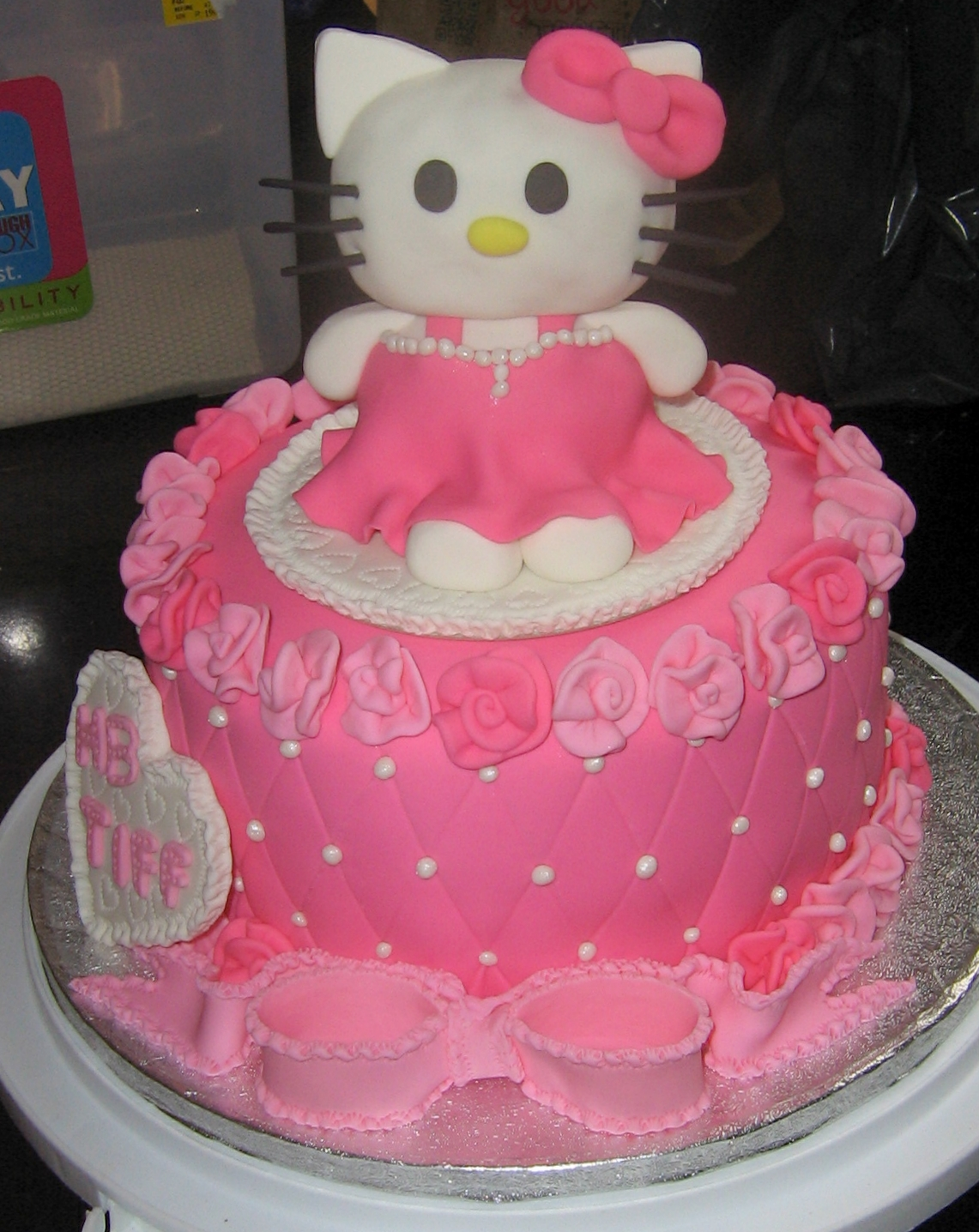 Hello Kitty in Pink