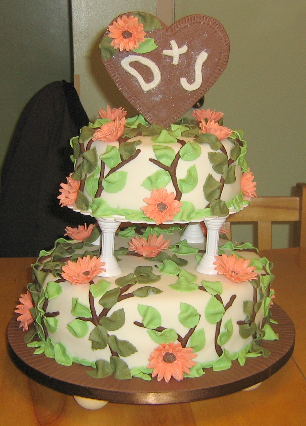 Wedding Cake For D & J
