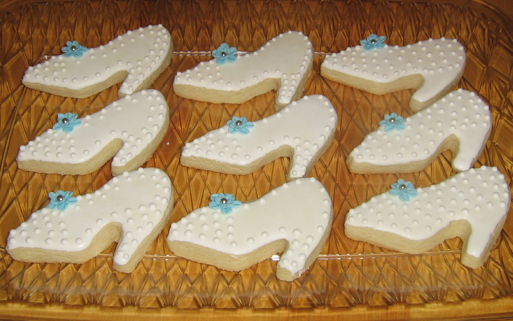 Wedding Shoe Sugar Cookies
